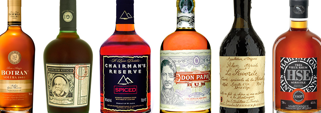 rums, cachaca