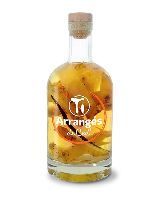 Flavoured Rum Victoria Pineapple Les Rhums De Ced