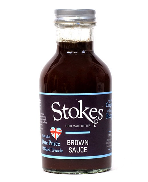 Real Brown Sauce Stokes Edelices Co Uk