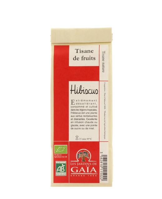 Hibiscus Tea - Les Jardins de Gaïa - edelices.co.uk