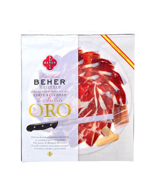 Bellota ham - hand sliced - Beher