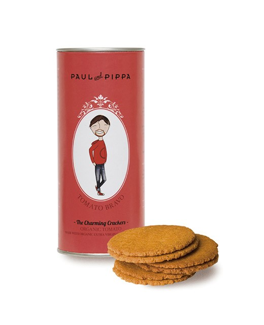 Biscuits with tomato - Paul & Pippa