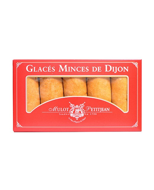 Gingerbread biscuit- les glacés minces of Dijon - Mulot & Petitjean