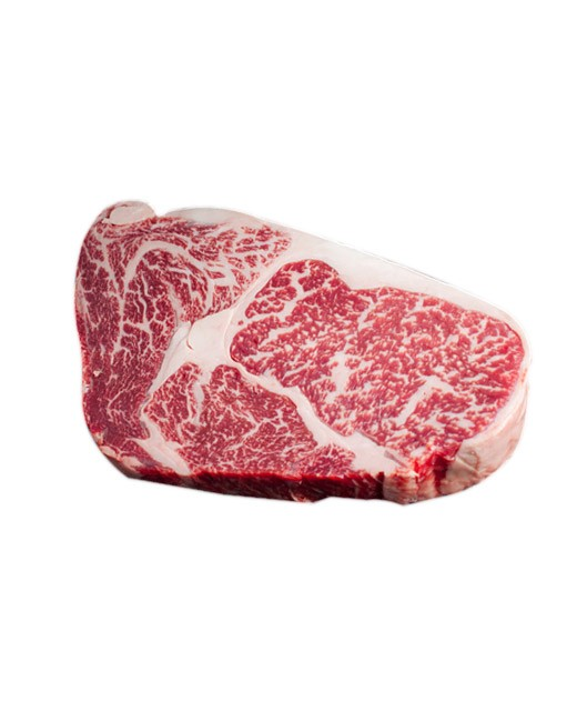 Wagyu beef Kobe style - rib eye steak (marbled 8+) - Edélices Boucherie