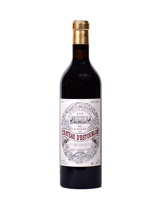Château d'Estoublon 2008 - AOP Baux-de-Provence - red wine -