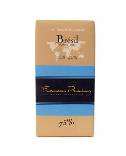 Dark Chocolate bar - Brazil - organic - Pralus
