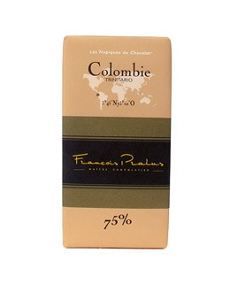 Dark Chocolate bar - Colombia - Pralus