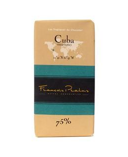 Dark Chocolate bar - Cuba - Pralus