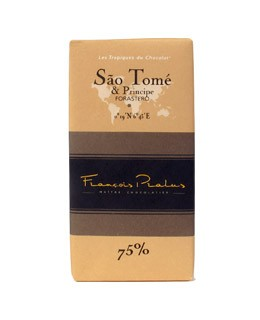 Dark Chocolate bar - Sao Tome - Pralus