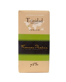 Dark Chocolate bar - Trinidad - Pralus