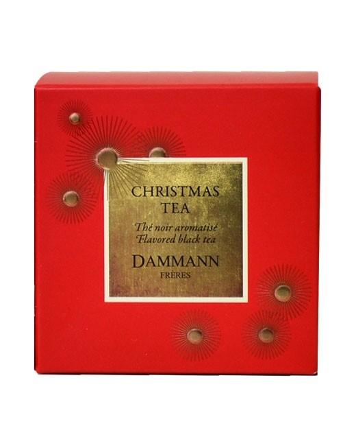 Christmas Tea Rouge tea - cristal sachets - Dammann Frères