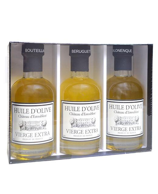 Discovery Box - single variety olive oils - Château d'Estoublon