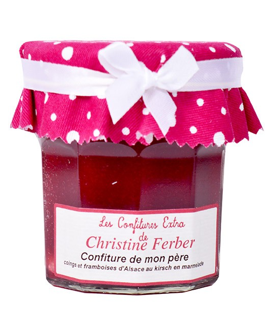 My Father's jam - quince, raspberry and kirsch - Christine Ferber