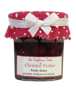 Forêt Noire Jam morello cherries and kirsch - Christine Ferber