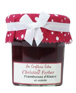 Raspberry Jam with Violet - Christine Ferber