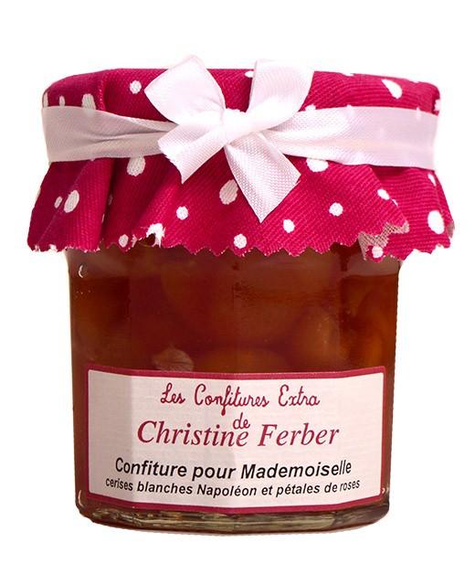 White cherry and rose jam for Mademoiselle - Christine Ferber
