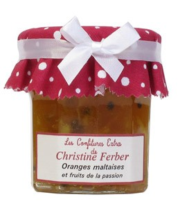 Orange and passion fruit Jam - Christine Ferber