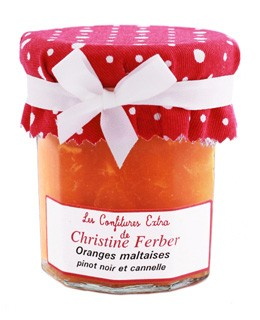 Orange Marmalade with Pinot noir and Cinnamon - Christine Ferber