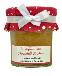 Williams Pear and Vanilla Jam - Christine Ferber
