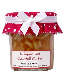 Saint-Nicolas Jam (apples, quince, oranges and gingerbread spices) - Christine Ferber