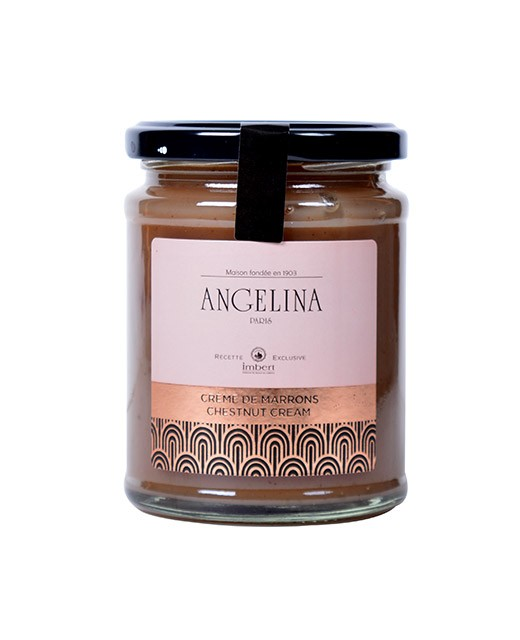 Chestnut cream in a jar - Angelina