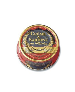 Sardine cream with whisky - La Belle-Iloise