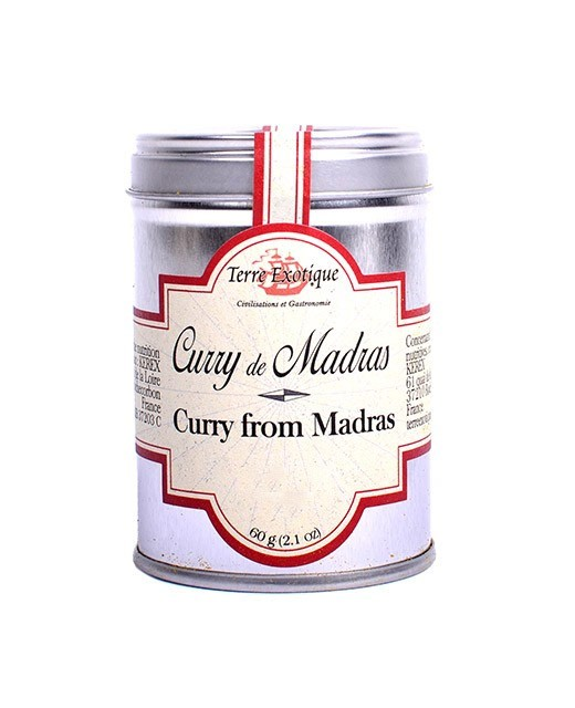 Madras curry spices - Terre Exotique