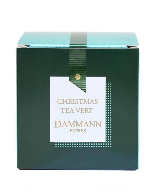 Green tea Christmas Tea Vert - cristal sachets - Dammann Frères
