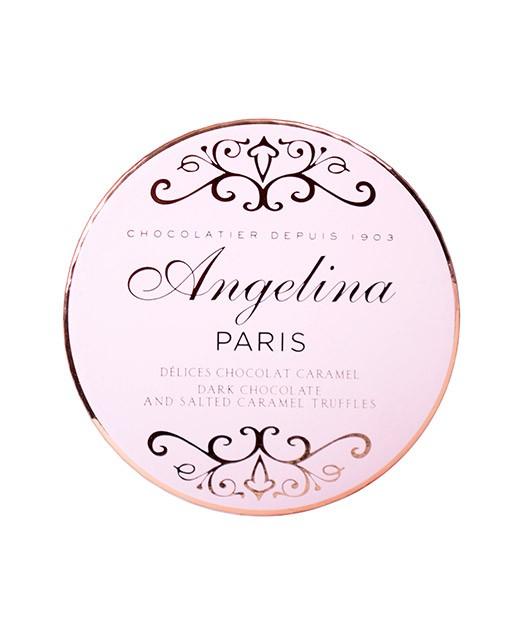 Caramel chocolate delights - Angelina