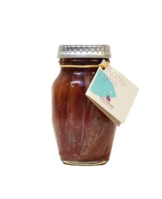 Filets d'anchois marinés à l'huile d'olive - Colimena