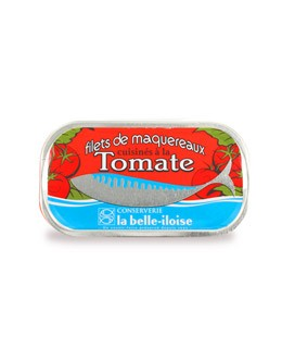 Mackerel filets cooked with tomatoes - La Belle-Iloise