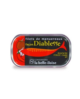 Mackerel filets devil style - La Belle-Iloise