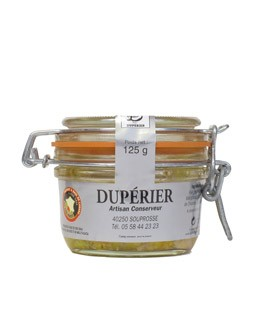 Whole duck foie gras 120g - Dupérier
