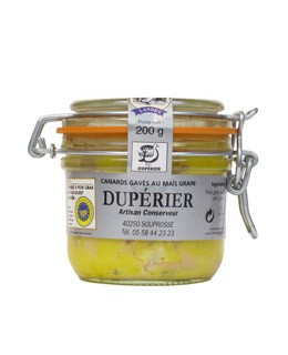 Whole duck foie gras 200g - Dupérier