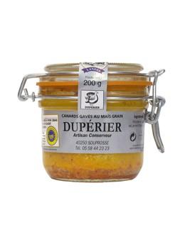 Whole duck foie gras with Espelette pepper - Dupérier