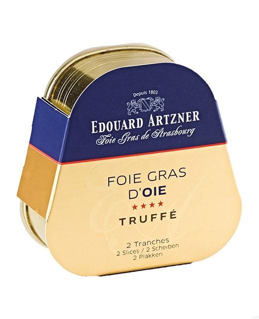 Truffled goose foie gras 75g - Edouard Artzner