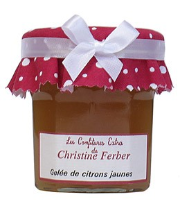 Yellow lemon Jelly - Christine Ferber