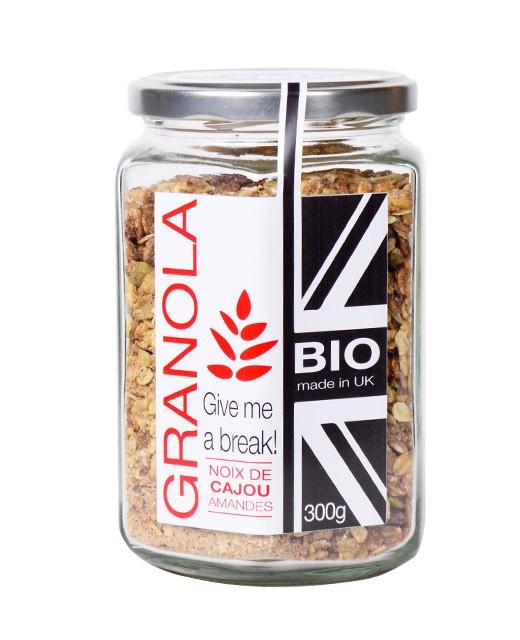 Organic Granola - Cashew nuts and almonds - Terre de Pépites