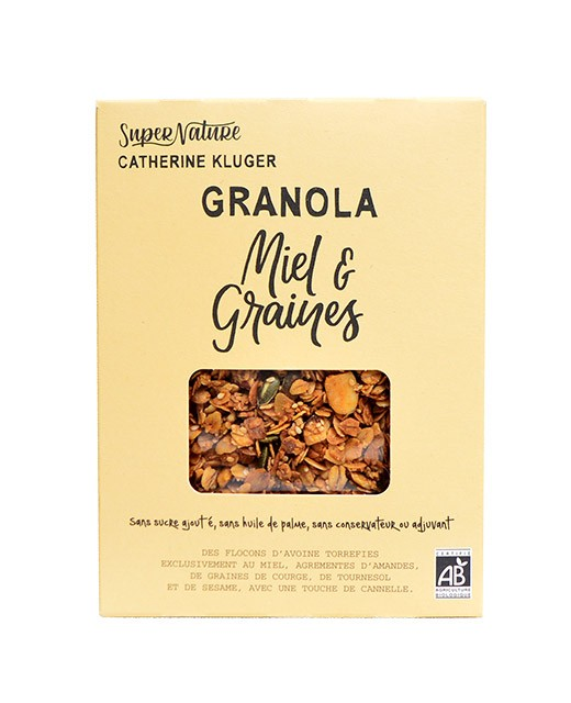 Honey granola & organic seeds - Catherine Kluger