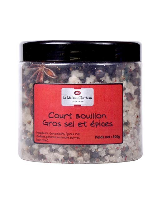French sea salt with spices - Maison Charteau