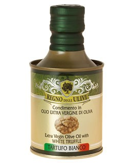 Olive Oil flavored with White Truffles - Regno degli Ulivi