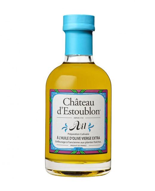 Garlic flavoured olive oil - Château d'Estoublon