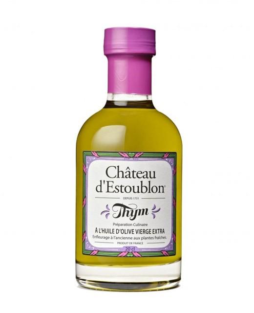 Thyme flavoured olive oil - Château d'Estoublon