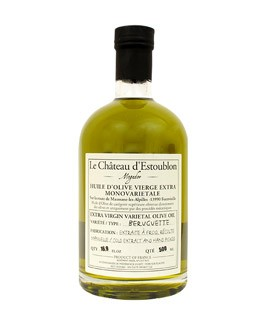 Extra virgin olive oil -  Beruguette 100% - Château d'Estoublon