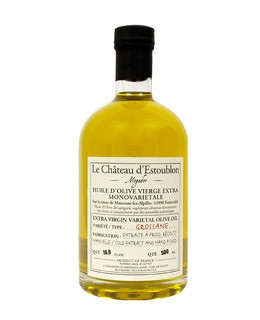 Extra virgin olive oil - Grossane 100% - Château d'Estoublon