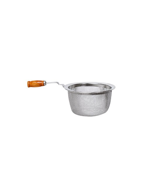Tea strainer with wooden handle 6cm - Dammann Frères
