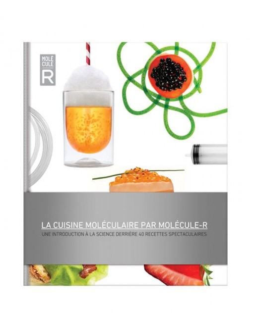Molecular cooking book - Molécule-R