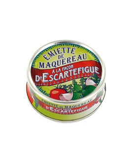 Mackerel pieces - Escartefigue style - La Belle-Iloise