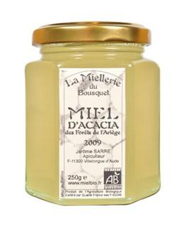 Organic Acacia honey  - Miellerie du Bousquet