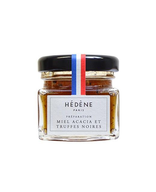 Acacia honey with black truffles from Périgord - Hédène